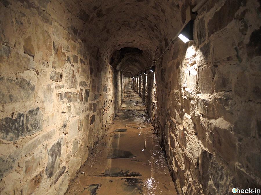Resti romani nel centro storico di Astorga