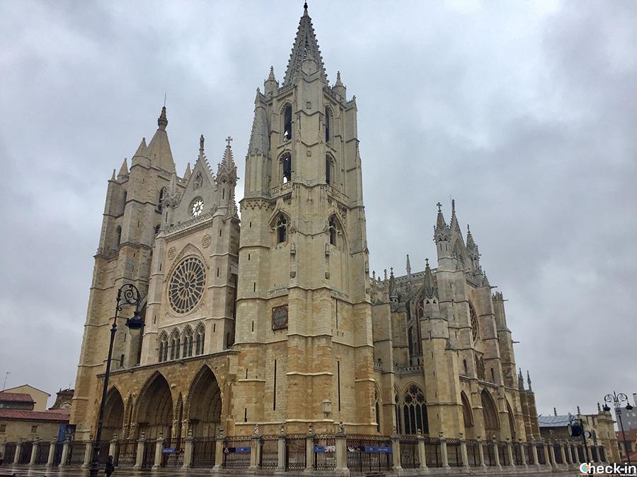 Cattedrale di León - Spagna settentrionale