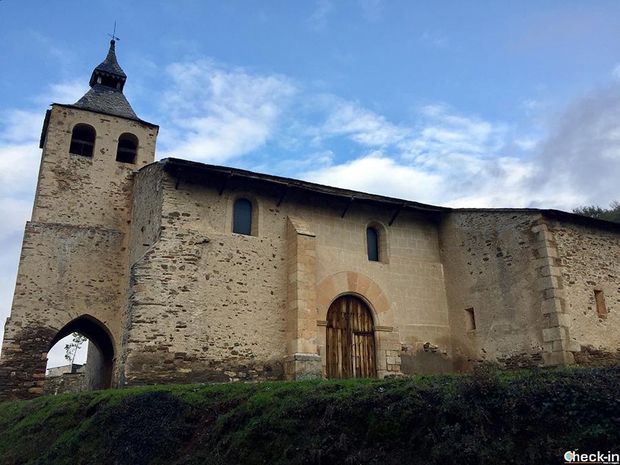Iglesia de S. Martín a Lombillo, vicino a Ponferrada