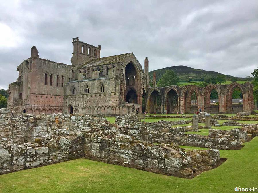 Qué ver cerca de Edimburgo: Abadía de Melrose