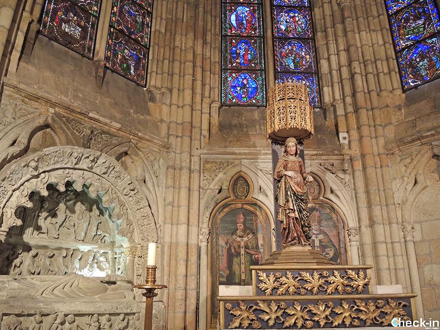 Statua della Madonna Incinta - Cattedrale di León (Spagna)