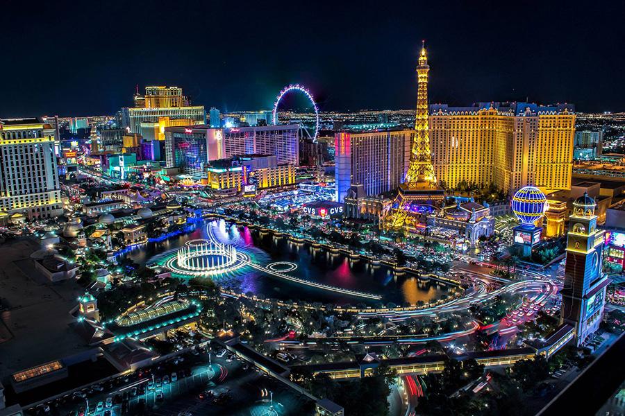 Weekend a Las Vegas, capitale mondiale dell'intrattenimento