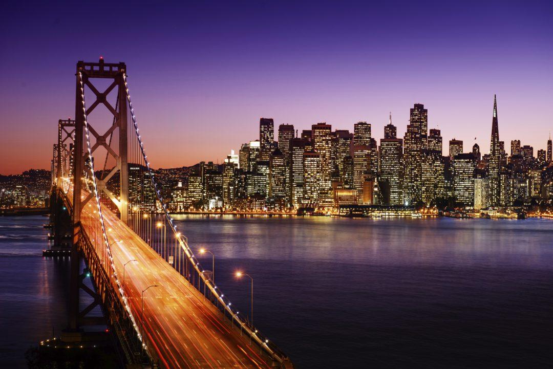 Skyline di San Francisco - West Coast USA