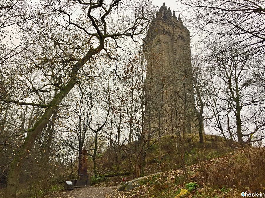 Main attractions in Stirlingshire - National Wallace Monument