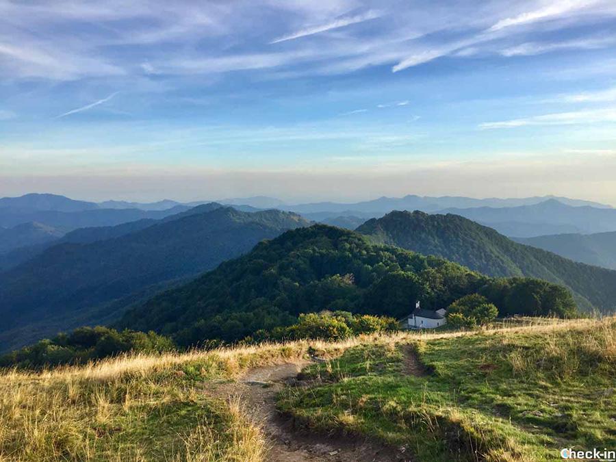 Entroterra di Genova - Escursione sul monte Antola