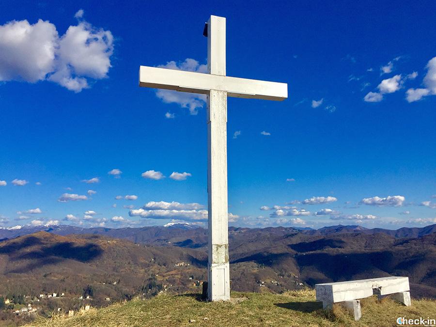 Escursioni nell'appenino ligure - Croce bianca del Monte Spigo