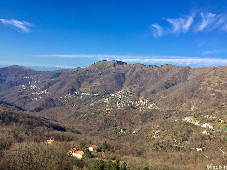 Camminate vicino a Genova - Passo della Scoffera