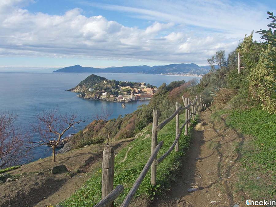 Escursionismo in Liguria: Punta Manara a Sestri Levante