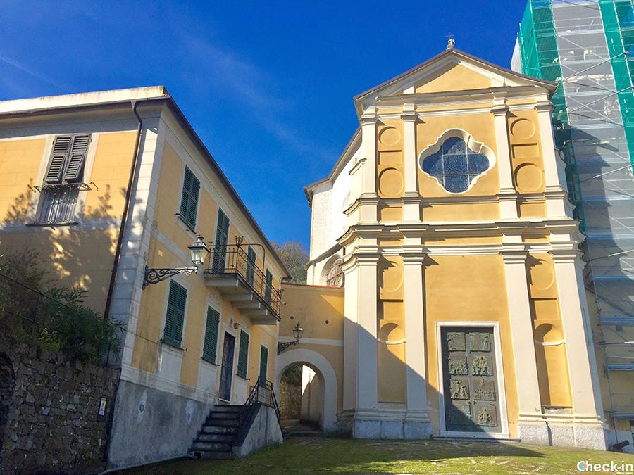 Parco di Portofino: Santuario N.S. del Carmine (Nozarego)