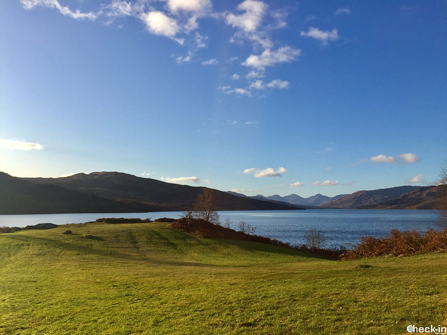 Outlander filming location - Brenachoile Point (Loch Katrine)