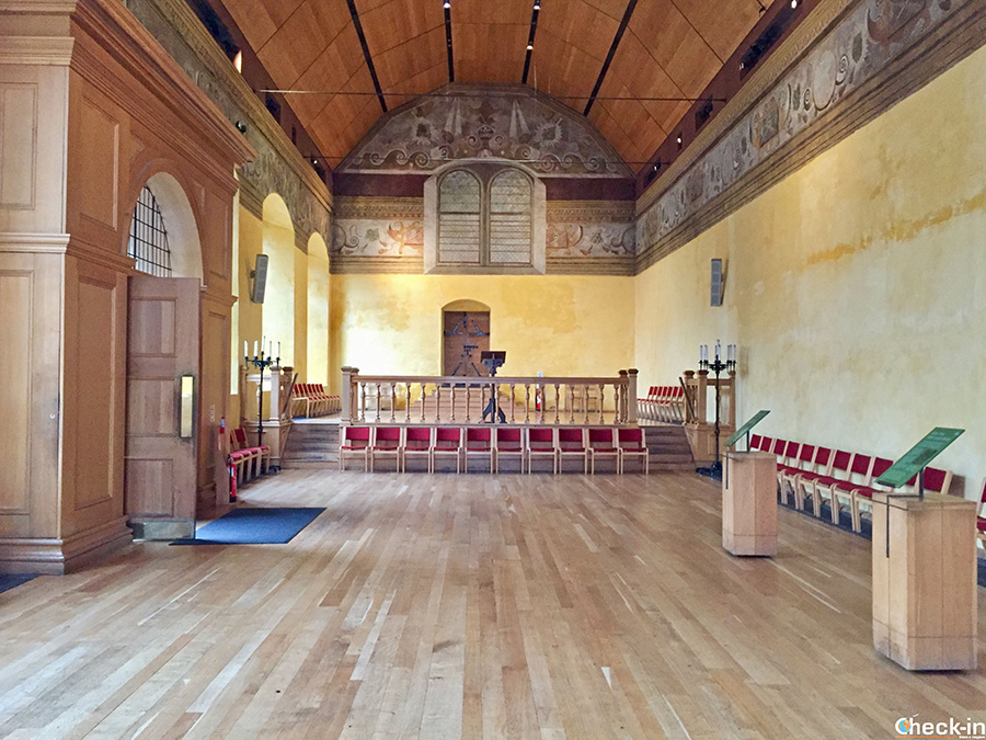 What to see at Stirling Castle: Royal Chapel