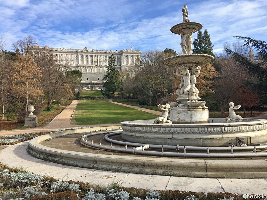 Parco Reale a Madrid - Campo del Moro