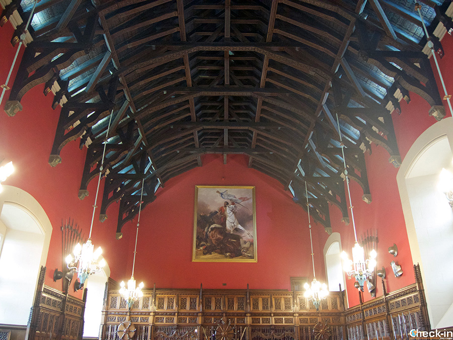 Lugares emblemáticos del Castillo de Edimburgo: la Great Hall