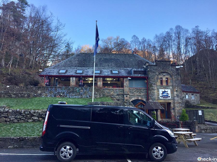 Free private transfer between Loch Katrine and Callander (Scotland)