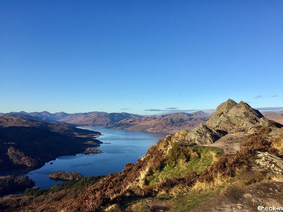 Hiking around Loch Katrine - Ben A'an