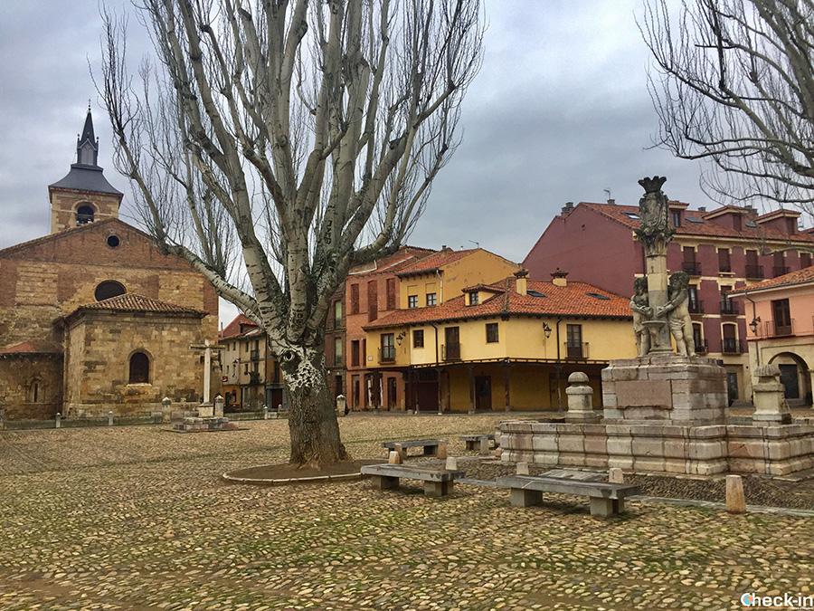 Qué ver en el centro medieval de León: Plaza del Grano