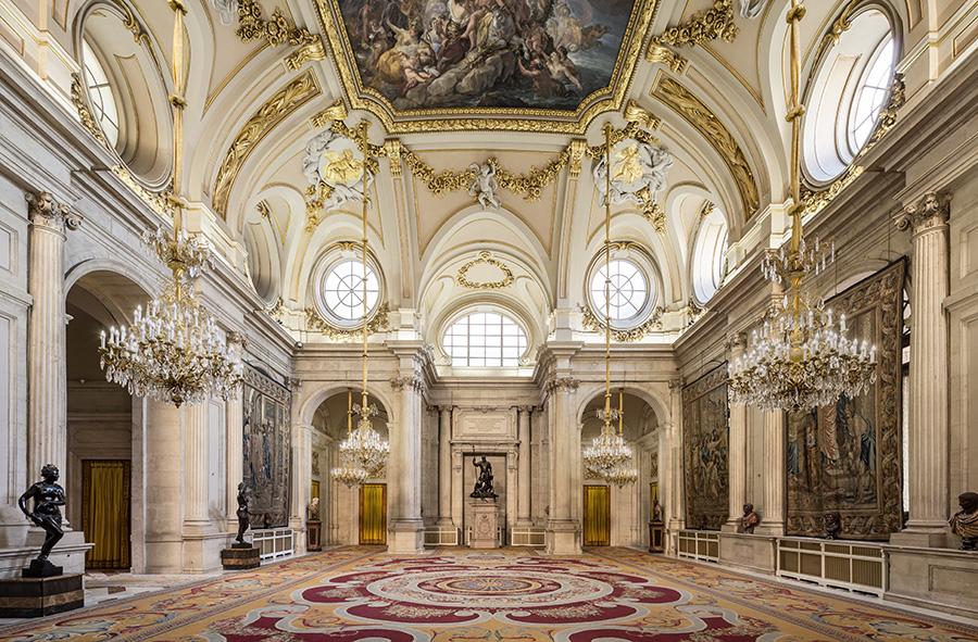 Cosa vedere nel Palazzo Reale di Madrid: Salón de Columnas