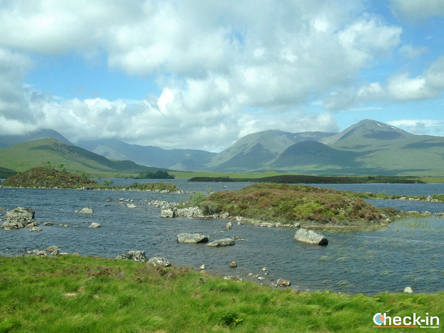 Paisajes bonitos de Escocia - Valle de Glencoe