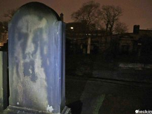 Tumbas famosas en Edimburgo - Davi Allan en el