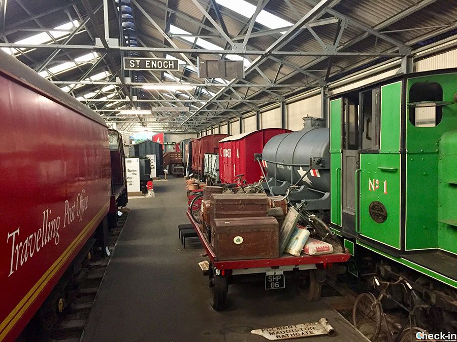 Museum of Scottish Railway in Bo'ness - Falkirk Area
