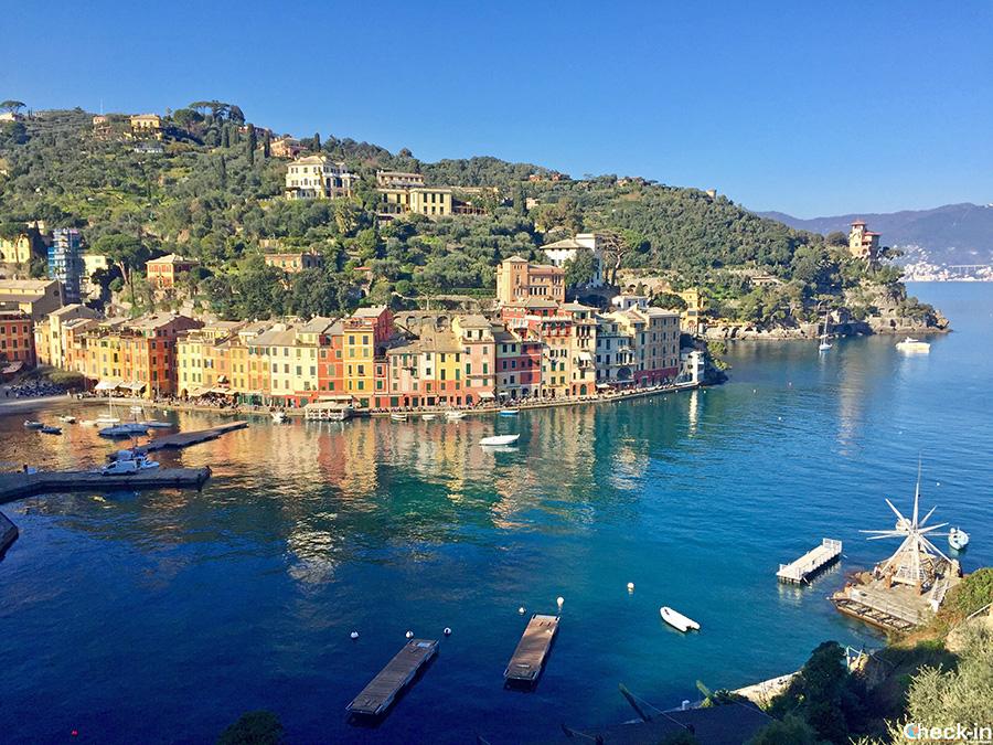 Località da vedere in giornata da Genova: baia di Portofino