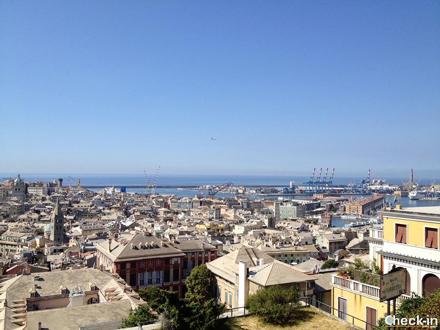 9 luoghi da non perdere a Genova - Belvedere di Spianata Castelletto