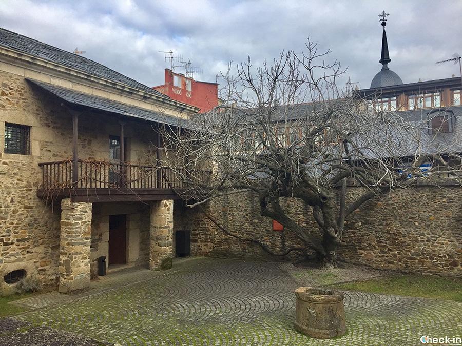 Patio interno - Museo del Bierzo en Ponferrada