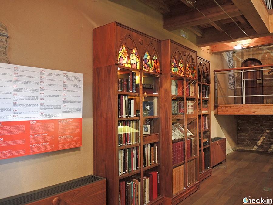 Visita del Castillo de los Templarios - Biblioteca Templaria