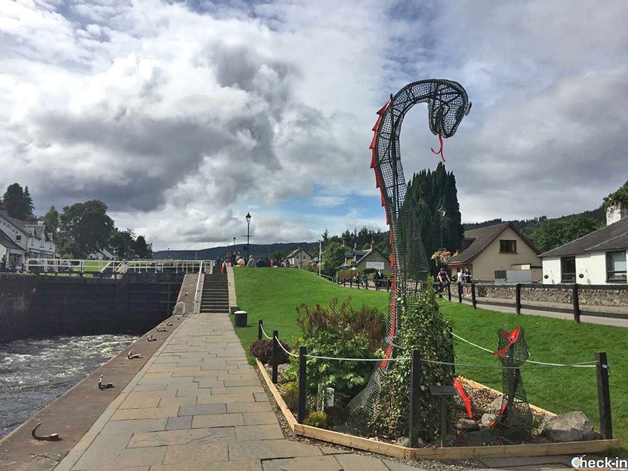 Explore the Scottish Highlands - Lunch at Fort Augustus on the banks of Loch Ness