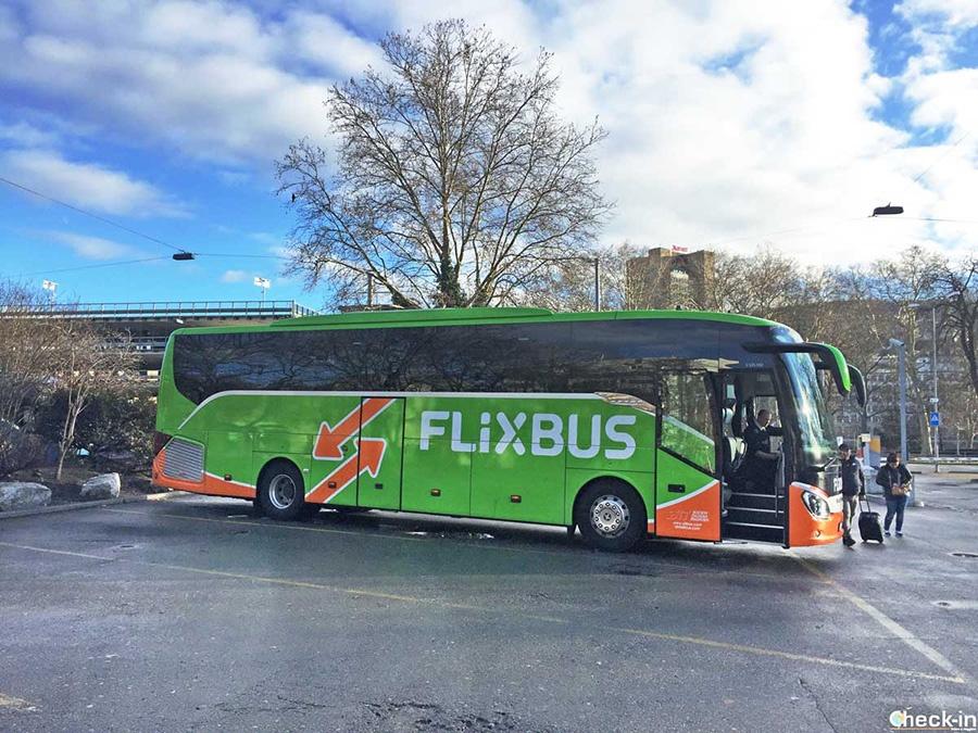 Come arrivare a Roma in autobus dal resto d'Italia