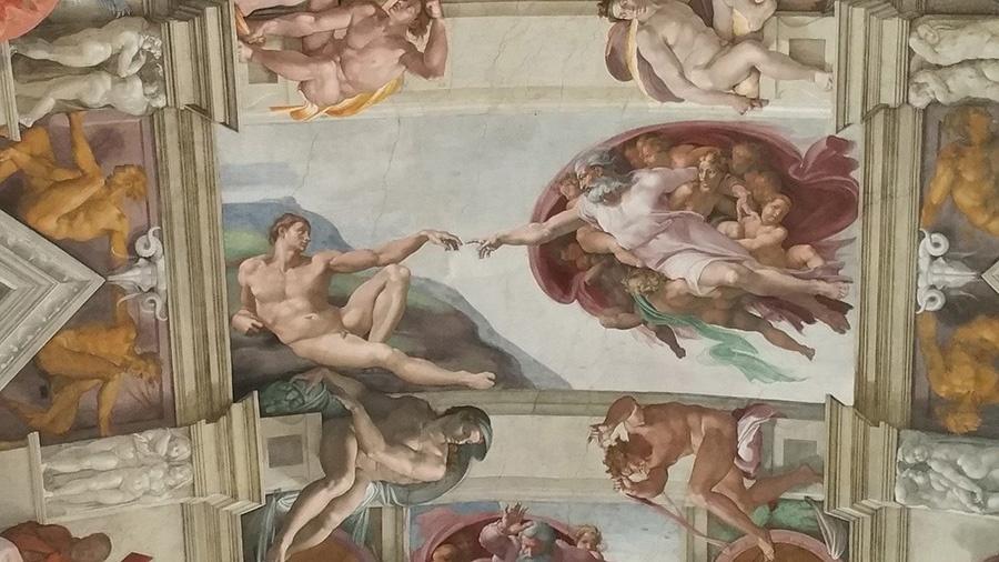 Volta della Cappella Sistina, opera di Michelangelo (Roma, Musei Vaticani)