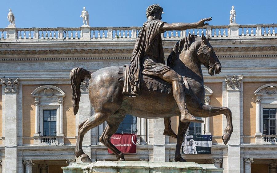 Statua equestre di Marco Aurelio in Campidoglio