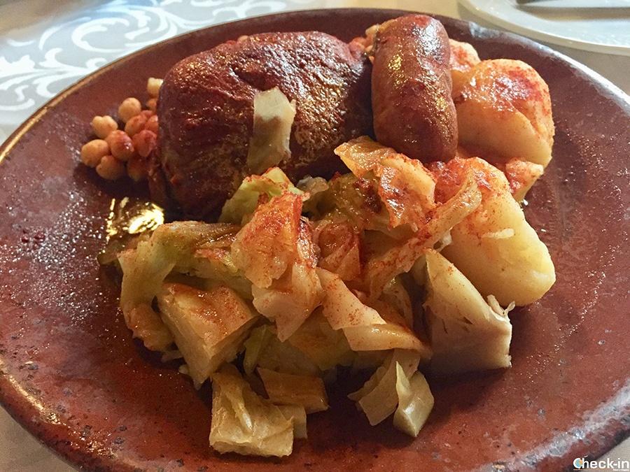 Qué comer de típico en Ponferrada: Botillo (Restaurante Las Cuadras)