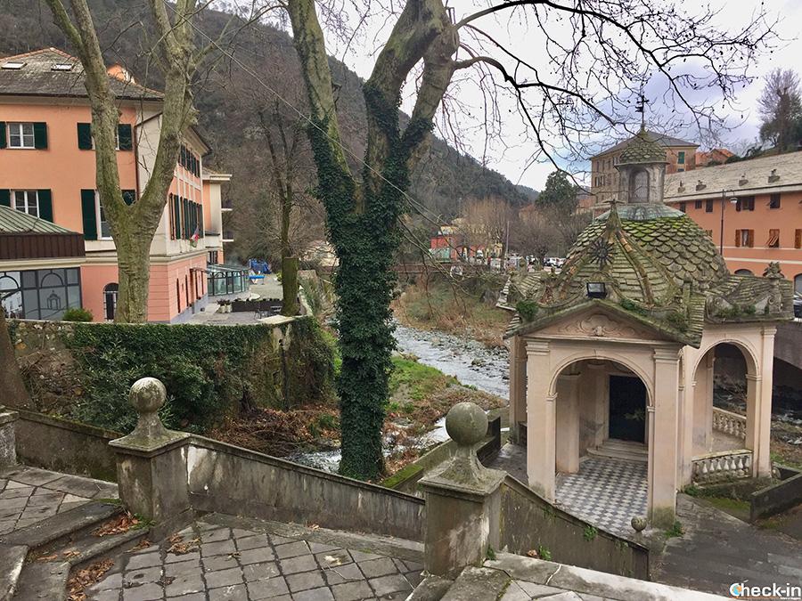 Cosa vedere vicino a Genova: le Terme di Acquasanta