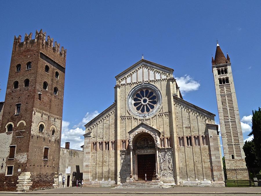 Basilica di San Zeno Maggiore - Luogo del matrimonio di Giulietta e Romeo