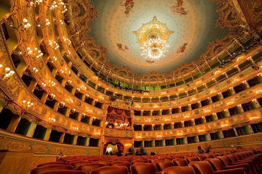 """Visita guidata al Teatro """"La Fenice"""" di Venezia"""