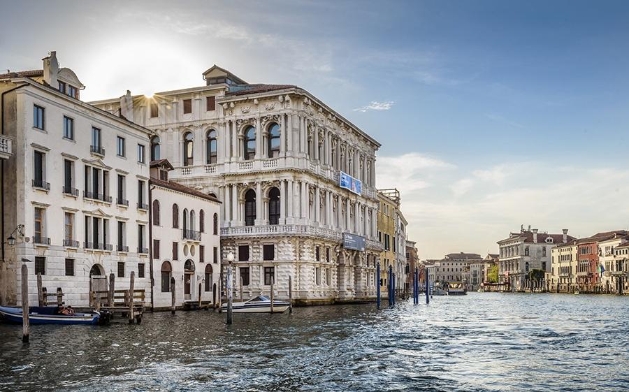 Dimore storiche veneziane sul Canal Grande: Ca' Pesaro