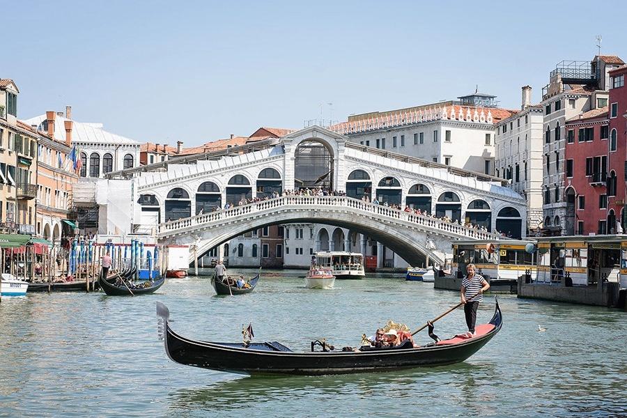 Itinerario turistico di 72 ore a Venezia: Ponte di Rialto