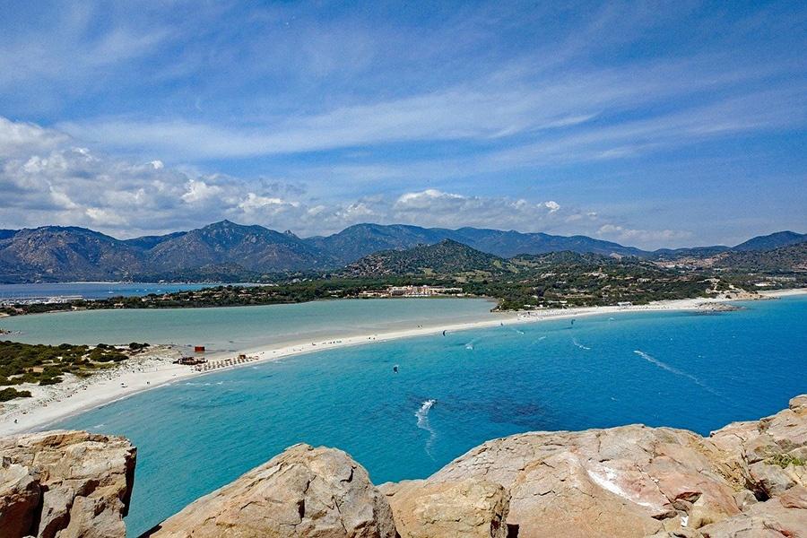Spiagge più belle della Sardegna meridionale vicino a Villasimius