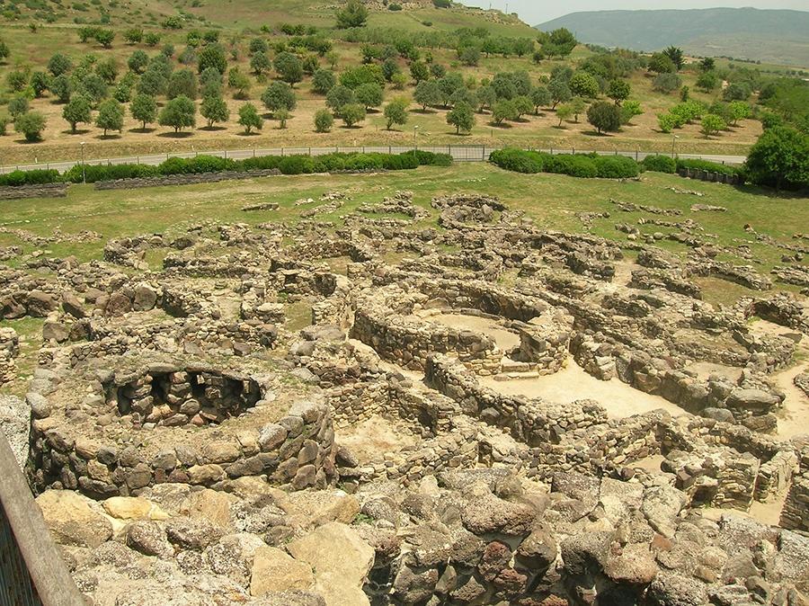 Nuraghe su Nuraxi a Barumini - Patrimonio UNESCO dell'Umanità
