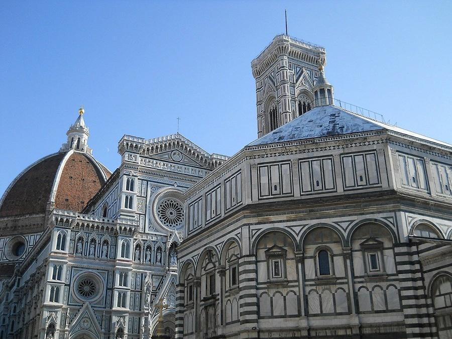 Principali attrazioni di Firenze: Duomo, Battistero e Campanile di Giotto