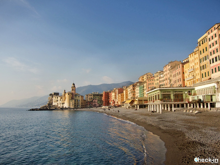 Top places to be visited in Italy: Camogli waterfront (Liguria)