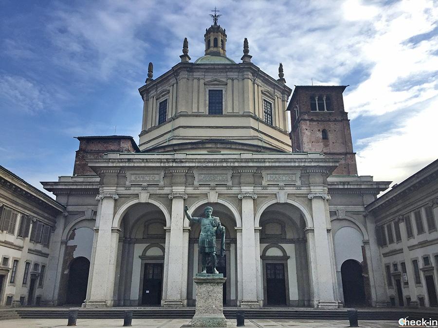 Chiese storiche di Milano: San Lorenzo e le Colonne romane
