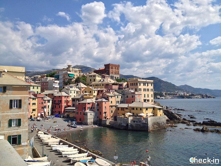 Genoa's hidden gems to discover: fishing village of Boccadasse