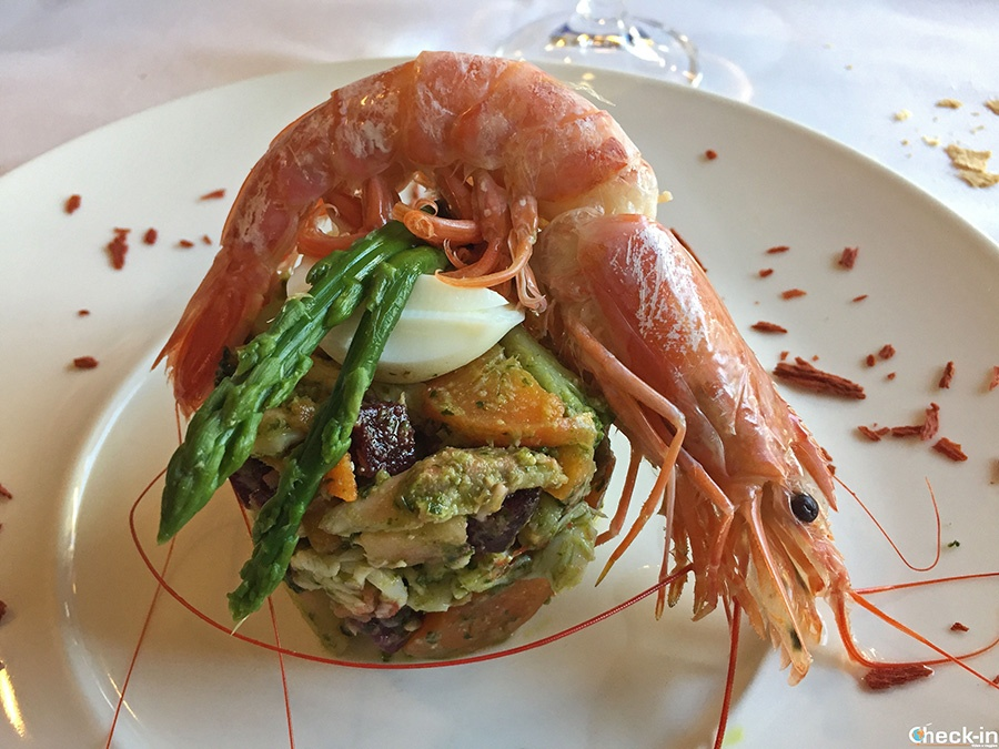 Seafood specialities in Liguria: Cappon Magro