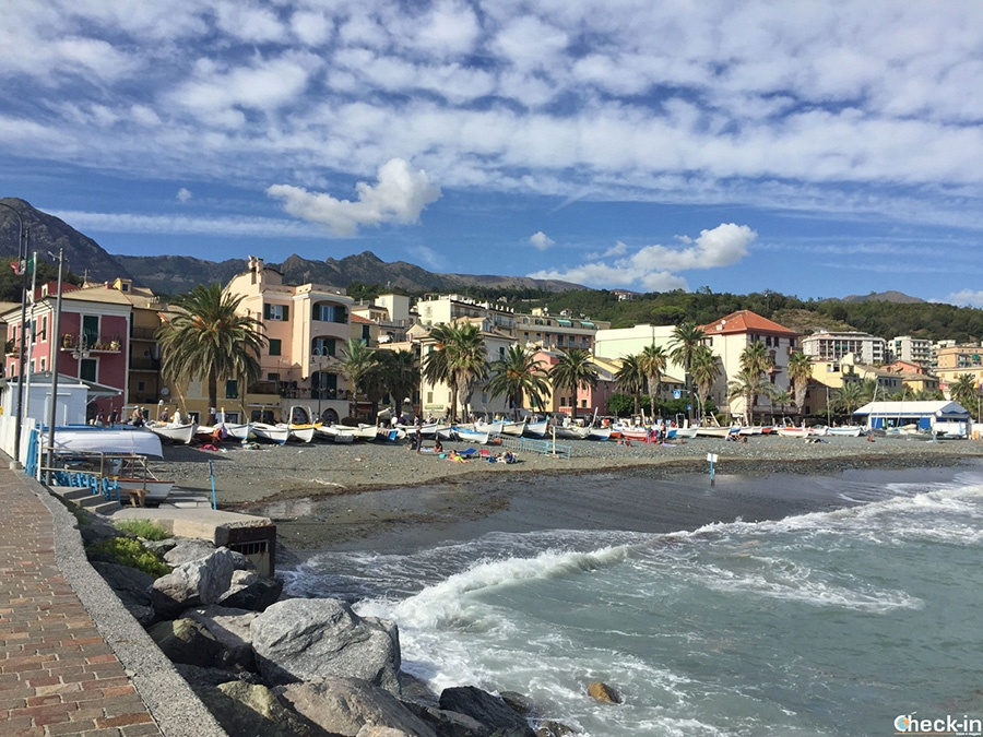 10 excursions to do in Liguria without a car: Cogoleto