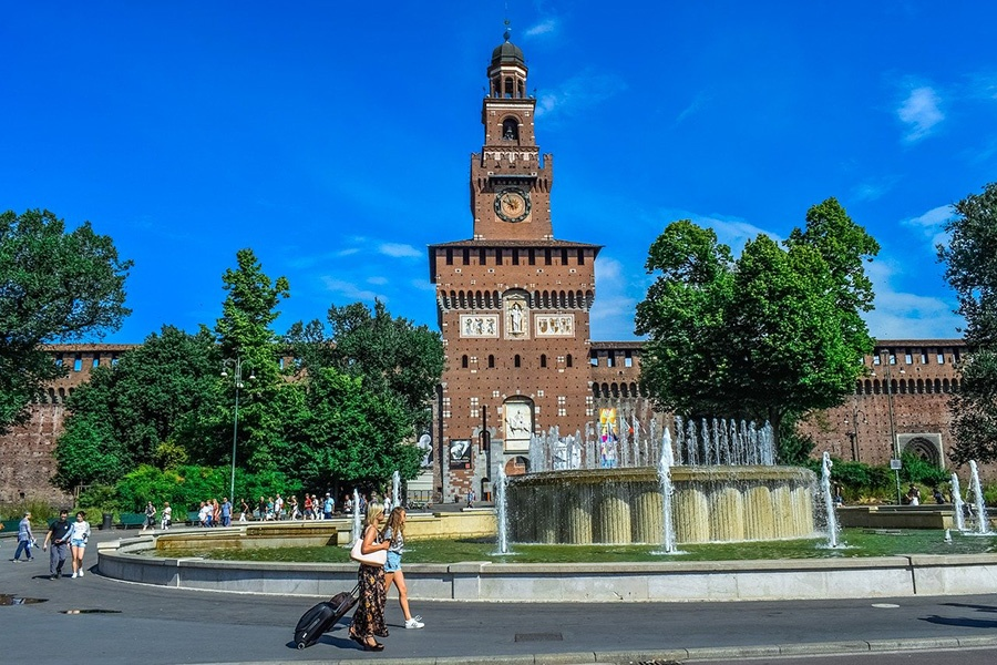 Musei Civici a Palazzo Sforzesco - Milano, Lombardia