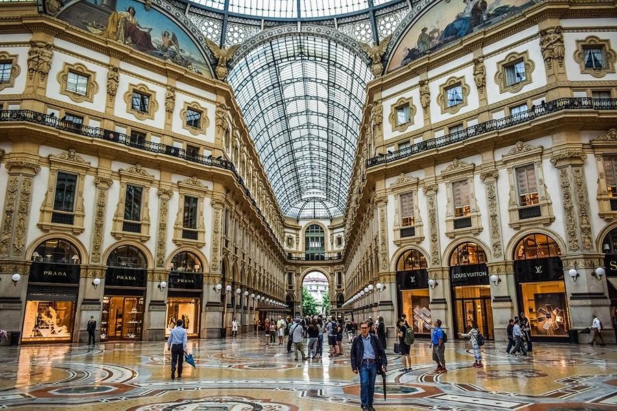 Luoghi simbolo di Milano: Galleria Vittorio Emanuele II