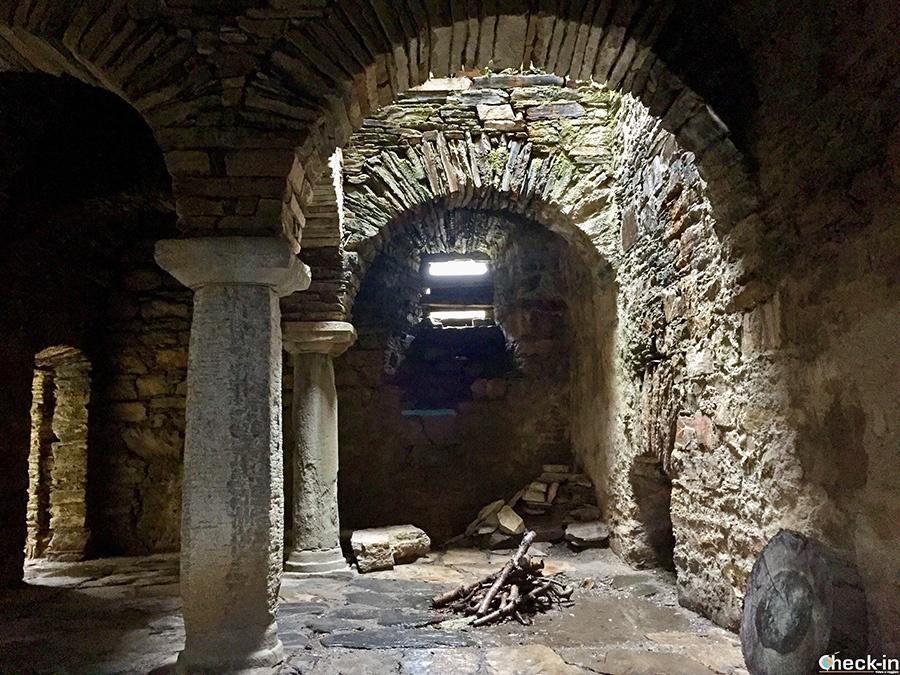 Ruinas monasterio de San Pedro de Montes - Comarca del Bierzo (Castilla y León)