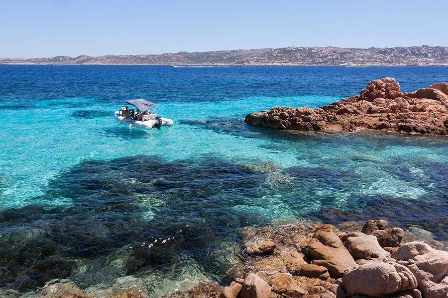 Best beaches in Mediterranean Sea: Maddalena Archipelago in Sardinia (Italy)